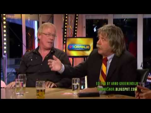 Rene van der Gijp had last van een remspoor