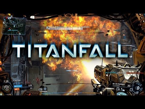 TITANFALL Xbox One - Primeiras Impressões / Beta Gameplay - Attrition no mapa Fracture