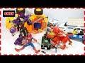 Siêu nhân gao người nhện bắt robot quái vật tê giác đồ chơi trẻ em spiderman toy for kids thumbnail