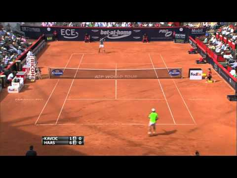 Haas vs Kavcic Highlights - ATP Hamburg 2013 [HD]