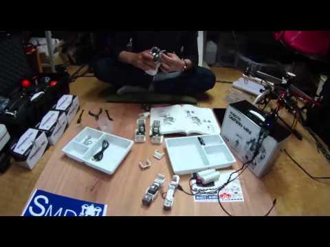 【小型教育ロボットキット】DARWIN-MINIを組立ててみました。
