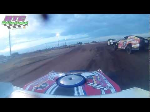 Clint Bowyer In-car IMCA Dirt Modified at RPM Speedway