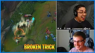 Streamers try new champion Qiyana and discovered new Moderkaiser trick | LoL Daily Moments Ep 498
