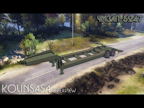 Semitrailer CHMZAP-5247