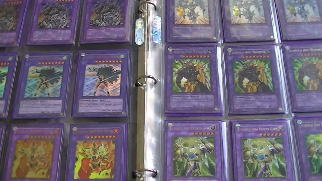 yugioh elemental hero fusion collection binder