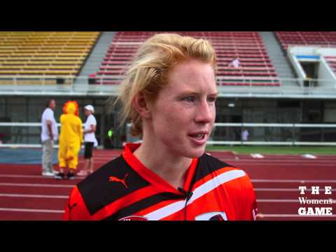 Brisbane Roar Captain Clare Polkinghorne speaks after semi final loss