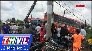 THVL | Bạc Liêu: xe tải đấu đầu xe khách giường nằm, tài xế xe tải bị gãy chân