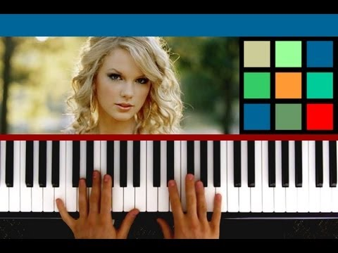 How To Play Love Story Piano Tutorial  Sheet Music (Taylor Swift...