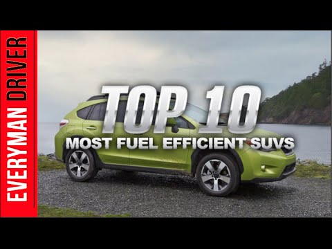 Top 10 Fuel Efficient SUVs of 2014 on Everyman Driver