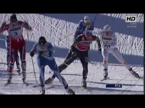 Woman's Sprint Finale Lahti 2013 - MARIT BJØRGEN vs KIKKAN RANDALL