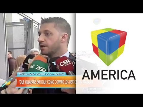 Matías Morla: Villafañe no está presa gracias a Burlando