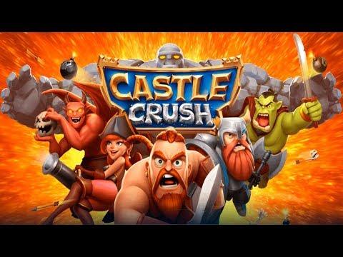 Castle Crush: Карточные игры онлайн Первые Победы и Поражения Игровое Видео Let's Play