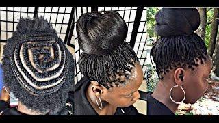 #182. CROCHET MICRO BRAID with kanekalon hair