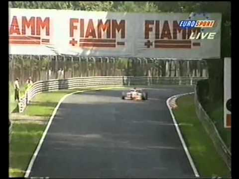 "The oft-maligned Taki Inoue attempts to complete a lap of the Monza circuit, but as he said himself ""my driving is getting better, but right now I'm getting ..."