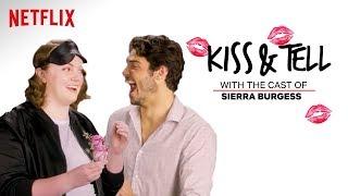 Sierra Burgess Is A Loser Cast Kiss Spaghetti Other Weird Stuff Kiss Tell Netflix
