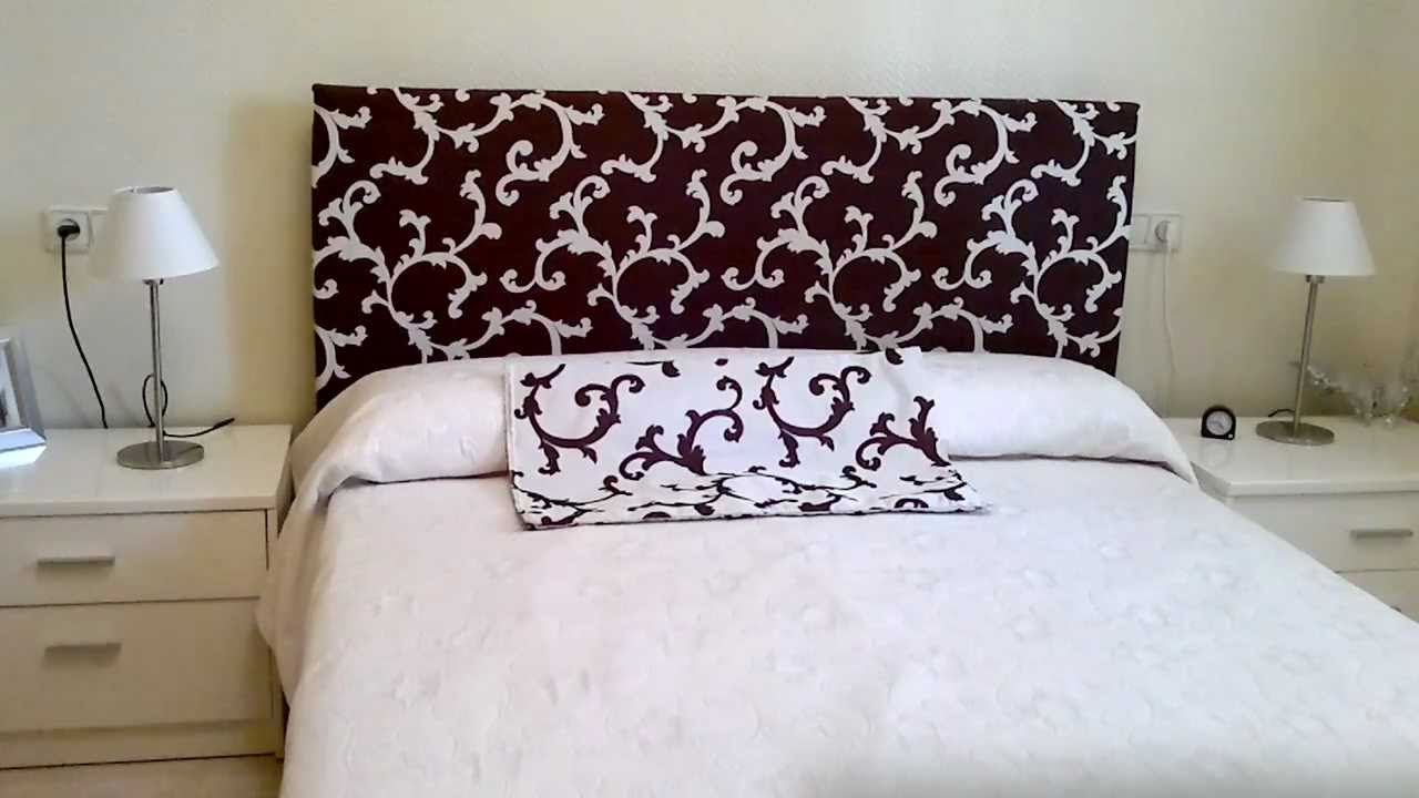 Diy cambio y decoracion de dormitorio en crisis x 50 - Como tapizar un cabecero ...