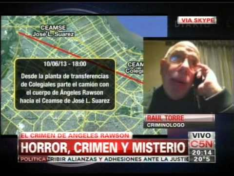 C5N - CRIMEN DE ANGELES RAWSON: ANALISIS DE UN CRIMINOLOGO