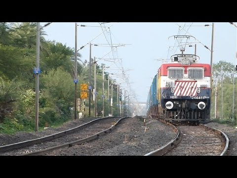 FREIGHT TRAINS OF  INDIAN RAILWAYS !