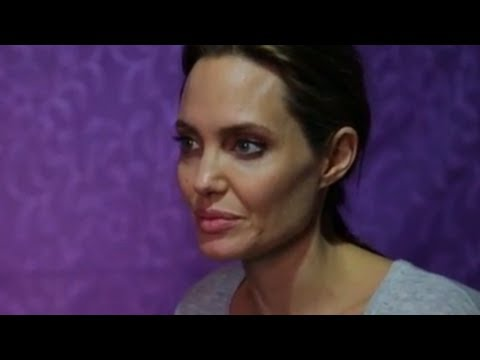 Angelina Jolie Meets Syria's Lost Children