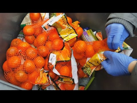 Food waste: How much food do supermarkets throw away? (CBC Marketplace)