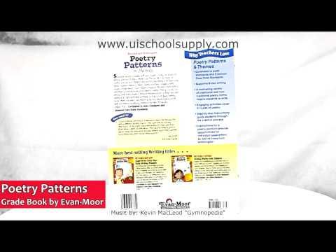 Poetry Patterns & Themes Grade Book by Evan-Moor EMC733