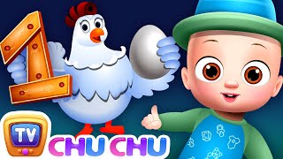Hickety Pickety My Cute Hen - ChuChu TV Nursery Rhymes & Kids Songs