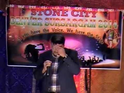 Tu Pyar Ka Sagar Hai Teri Ek Boond Ke Pyaase Hum - Seema - Denver Sur Sargam 2014 video