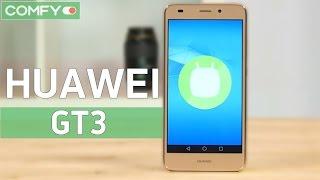Huawei GT3 -  смартфон  с металлическим корпусом и датчиком отпечатков пальцев - Видео демонстрация