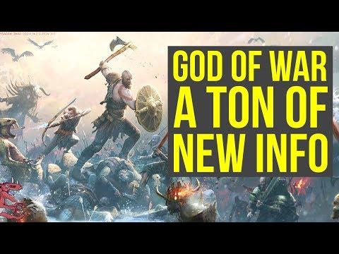 God of War News Armor Crafting, Deep Customization, Combat & MORE! (God of War 4 - God of War PS4) thumbnail