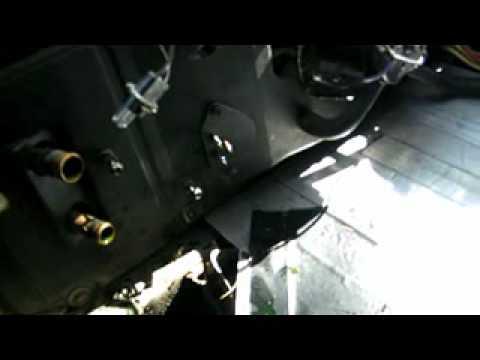 Eco Steve 1984 Pontiac Fiero Heater Core Removal, Electric Car