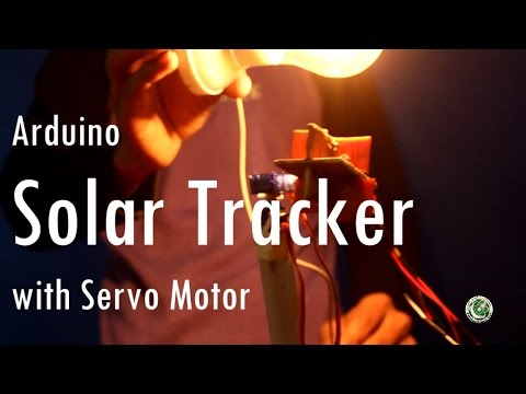 Arduino Sun Tracker With Servo Motors