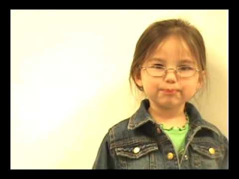 Three Year Old Mother's Day Rap Video