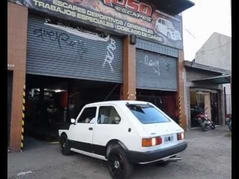 Fiat 147 turbo 245 HP by: VICENZA TURBOS