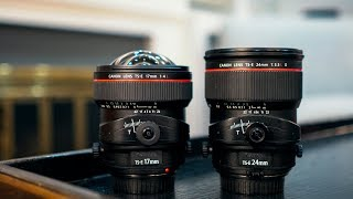Canon TS-E 24mm f3.5L II vs Canon TS-E 17mm f4L Tilt Shift: Which Should You Buy