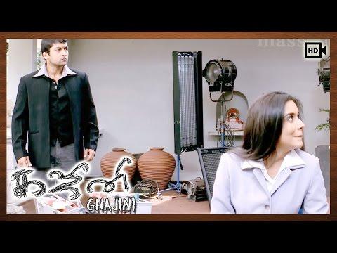 Ghajini Tamil Movie | Scenes | Suriya, Asin