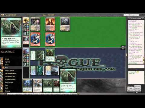 Master Biomancer Bant vs WBR Tokens - Magic the Gathering Online