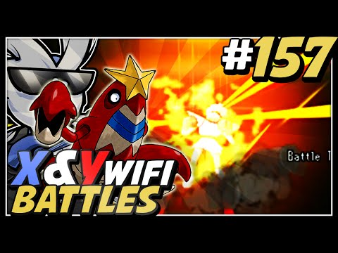 Pokemon X and Y Wifi Battle #157 - Live Vs Remy