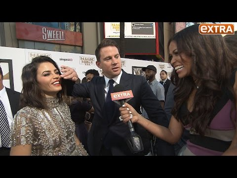 Awkward! Channing Tatum's In-Laws Join Him for 'Magic Mike XXL' Premiere