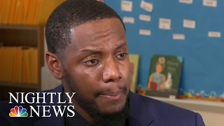 Inspiring America: Teacher Shares Personalized Handshake With Every Student | NBC Nightly News