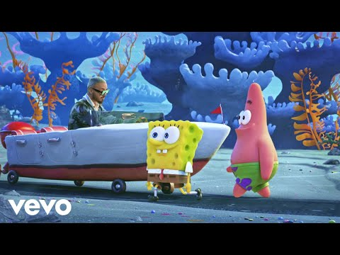 "Tainy, J Balvin - Agua (Music From ""Sponge On The Run"" Movie/Official Video)"