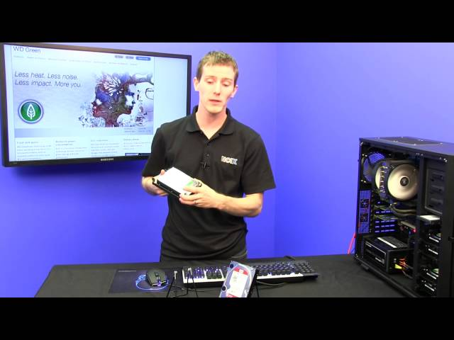 Western Digital WD Green EZRX Next Generation Eco-Friendly Storage Drive NCIX Tech Tips
