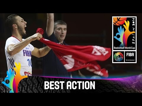 France v Croatia - Best Action - 2014 FIBA Basketball World Cup