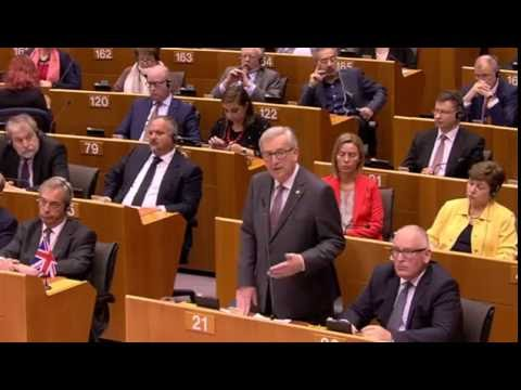 Did Juncker speak with aliens leaders of other planets ?