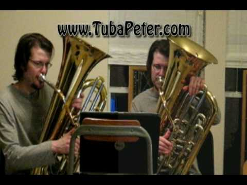 Star Wars Imperial March Tuba Duet