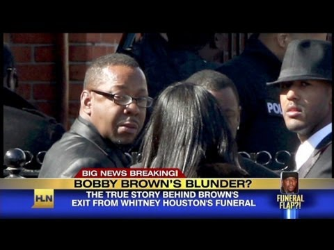 Bobby's blunder at Whitney's funeral?