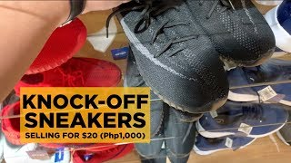 THE WORST KNOCK-OFF SNEAKERS FOR UNDER $20 (Php1,000) IN MEGA MALL