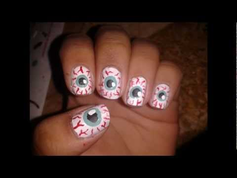Halloween Eyeball Nail Tutorial