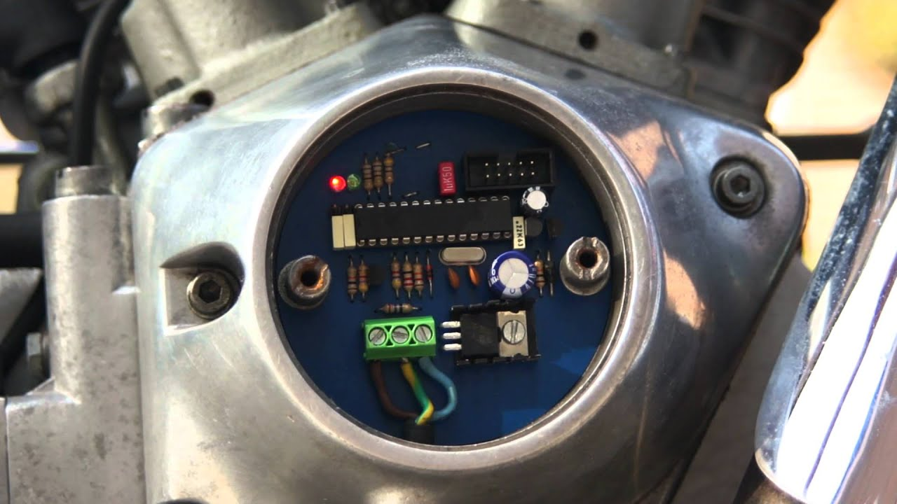 Homebrew Digital Ignition For Harley Davidson