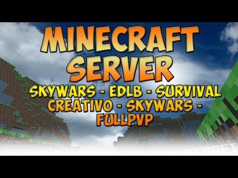 Minecraft Server Skywars - EDLB - Survival 1.7.X   No Premium - No hamachi - 24/7
