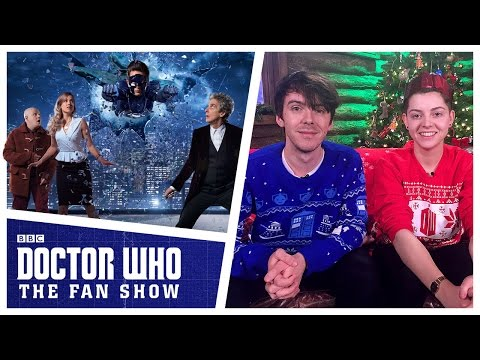 Doctor Who: The Fan Show - Christmas Special reactions